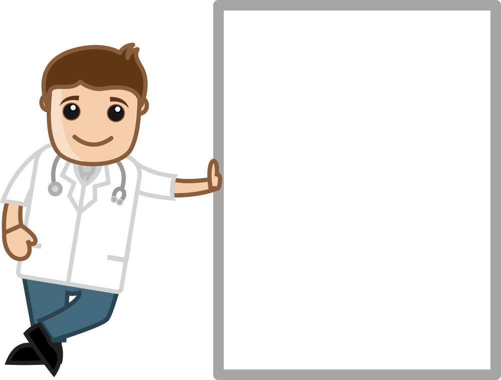 Medical Cartoon Character - Doctor