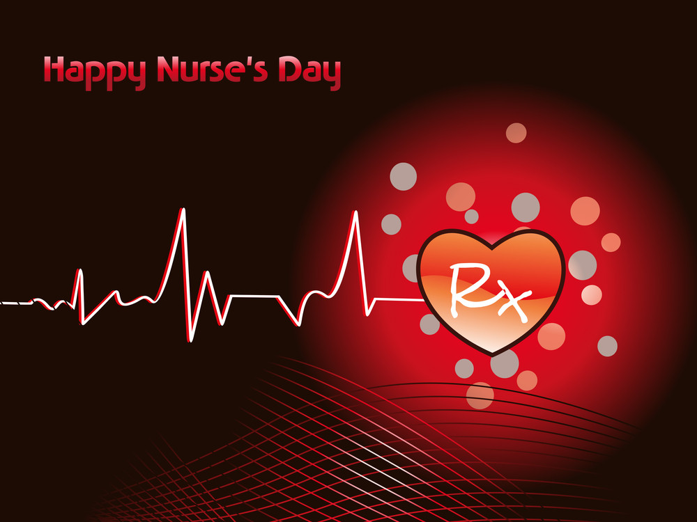 Medical Concept Background For Nurse's Day