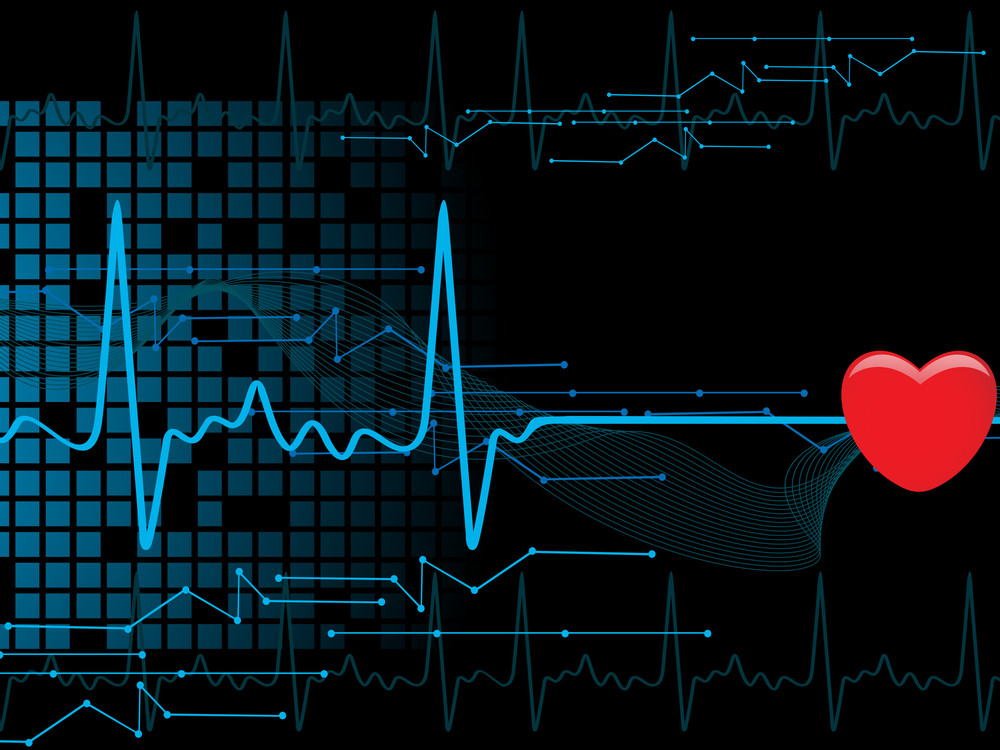 Medical Heartbeat Background