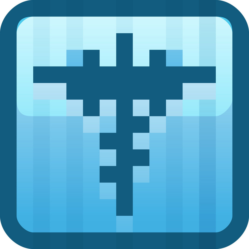 Medical Help Blue Tiny App Icon