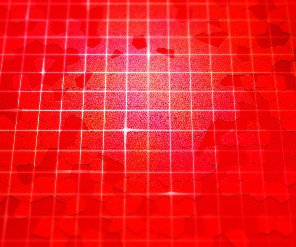 Medical Laser On Skin Background