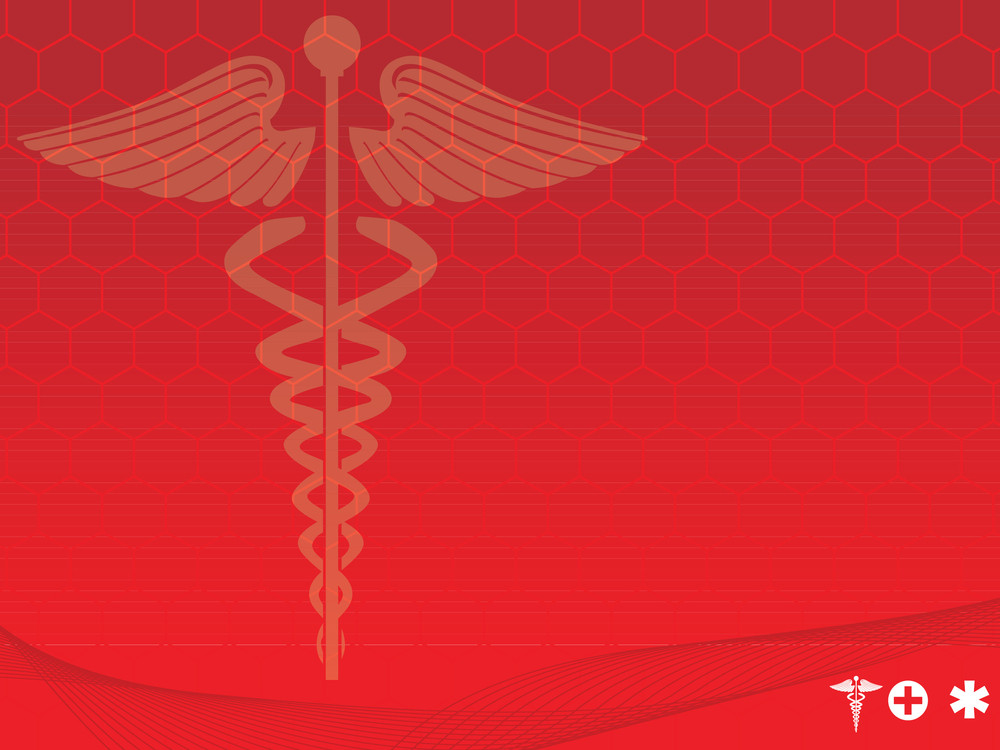 Medical Symbol Red Vector Illustration Royalty Free Stock Image