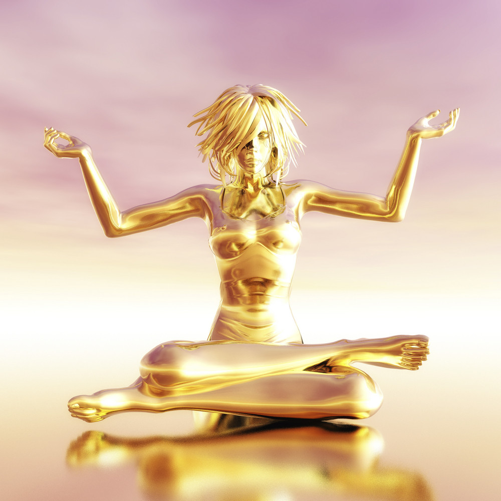 Meditating Female