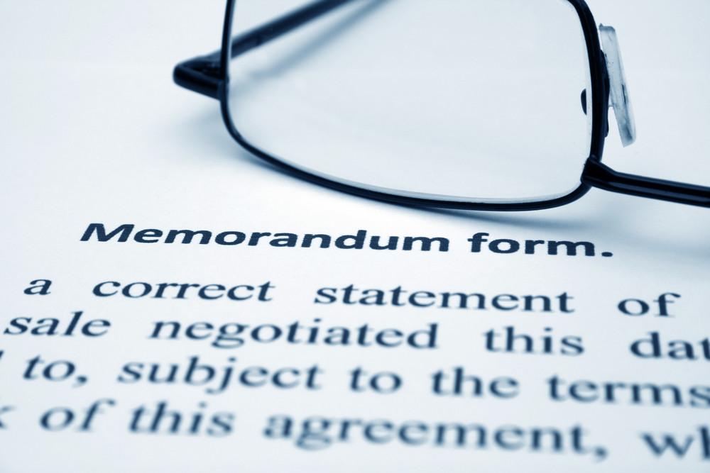 Memorandum Form