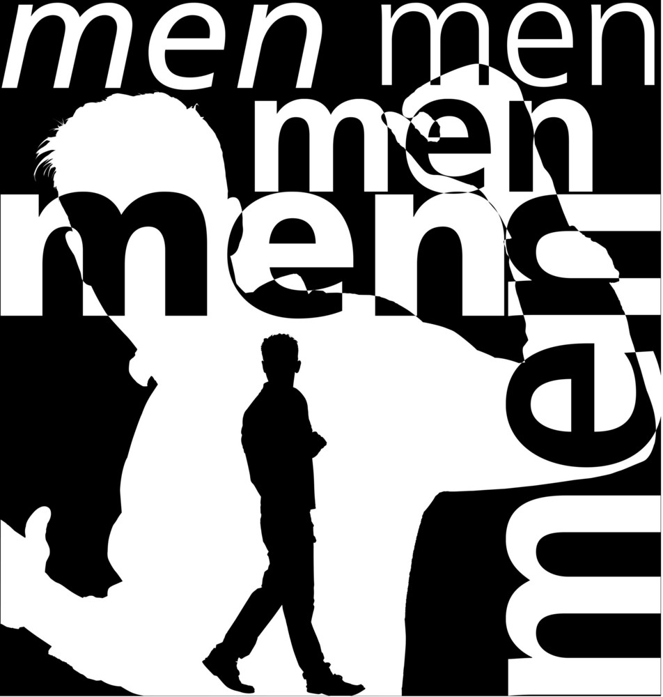 Men. Vector Illustration