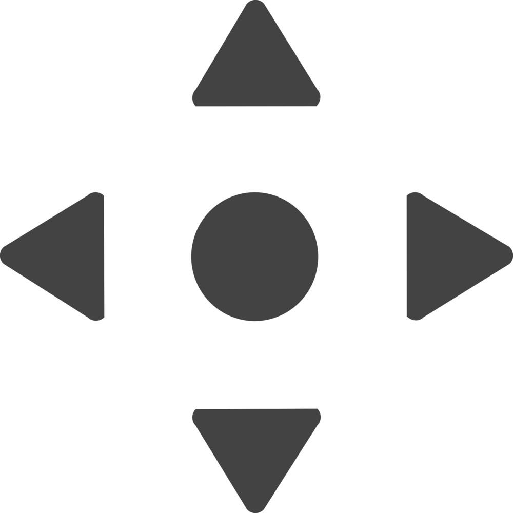 Menu Button Glyph Icon