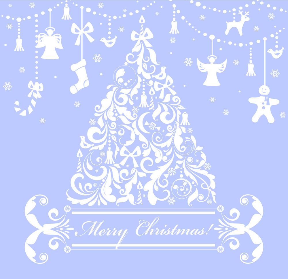 Christmas Background Free.Merry Christmas Background Royalty Free Stock Image