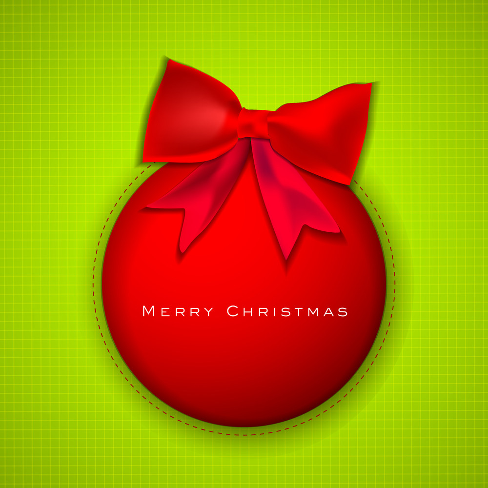 Merry Christmas Celebration Background.