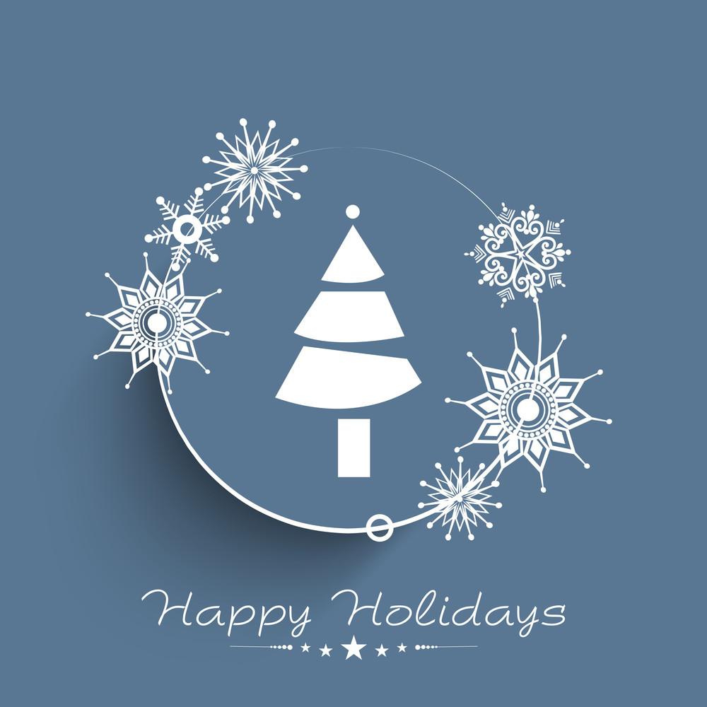 Merry Christmas Celebration auguri o di sfondo