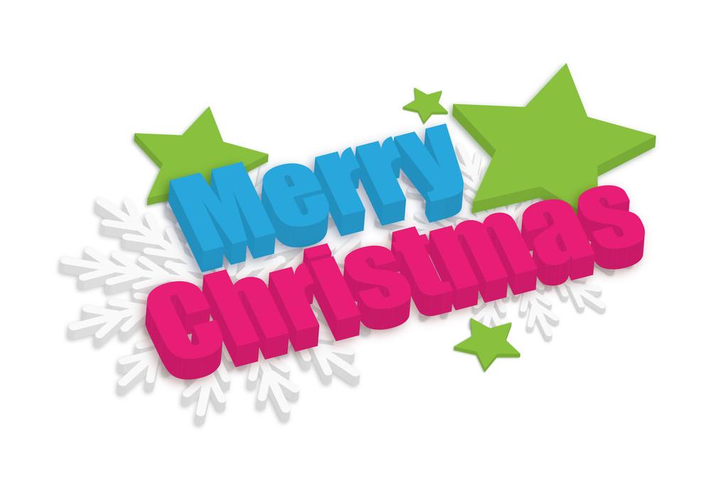 Merry Christmas Decorative Banner