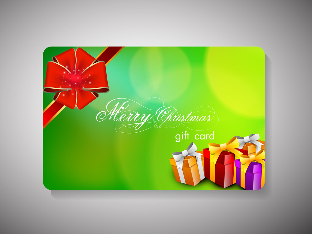 Merry Christmas Gift Card.