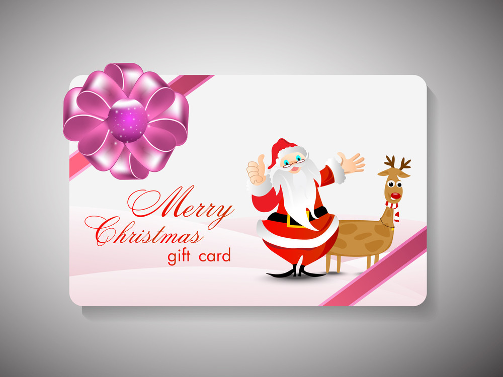 Merry Christmas Gift Card.
