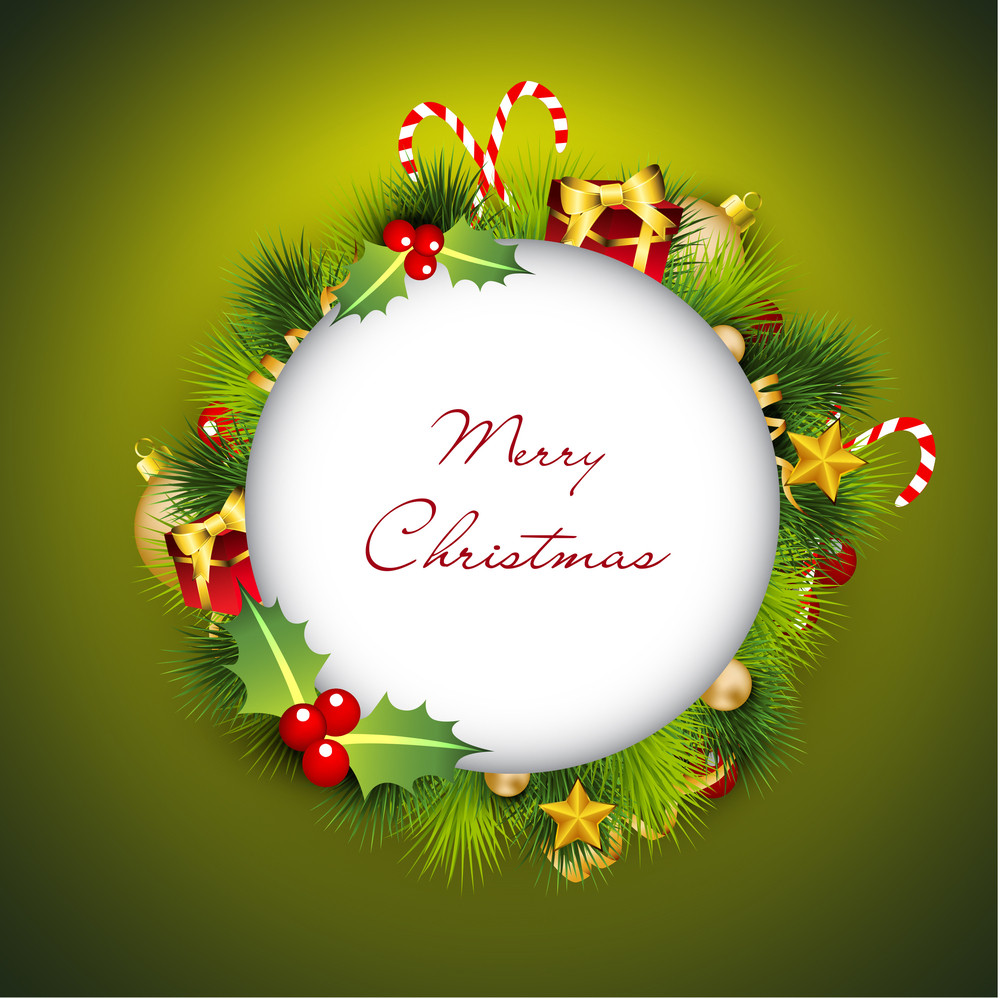 Merry Christmas Greeting Cards. Royalty-Free Stock Image ...
