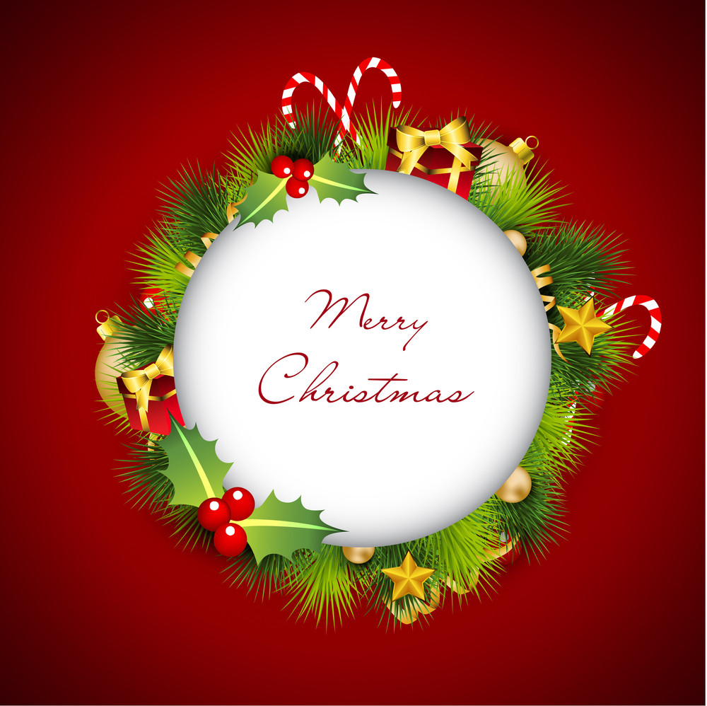 Merry Christmas Greeting Cards.
