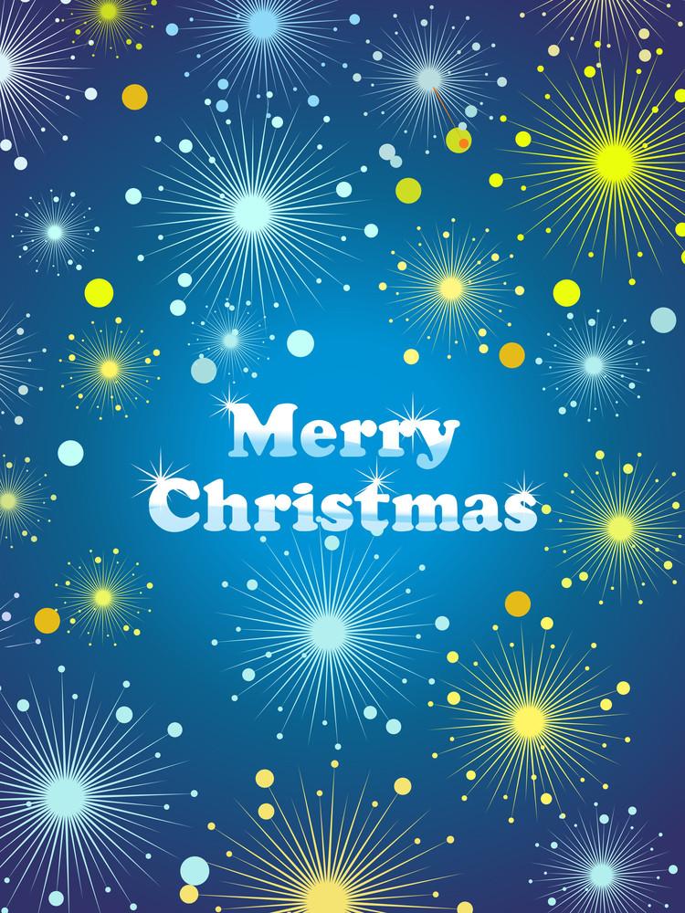 Merry Xmas Background Illustration