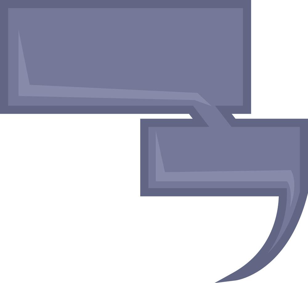 Message Box - Speech Bubble