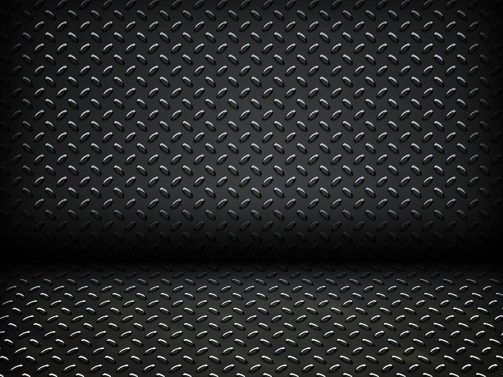 Metal Diamon Plate Backdrop