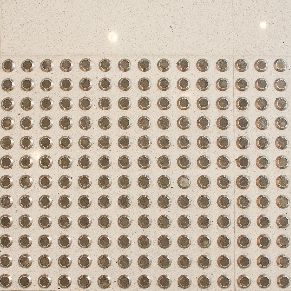 metal dot on floor texture