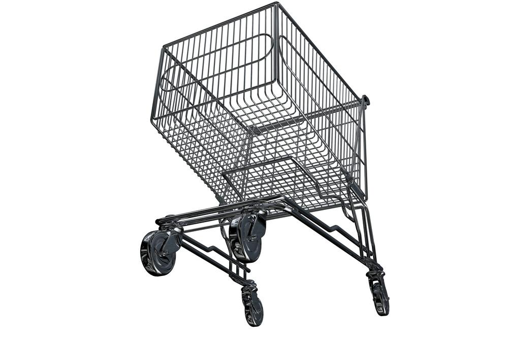 Metal Shopping Cart