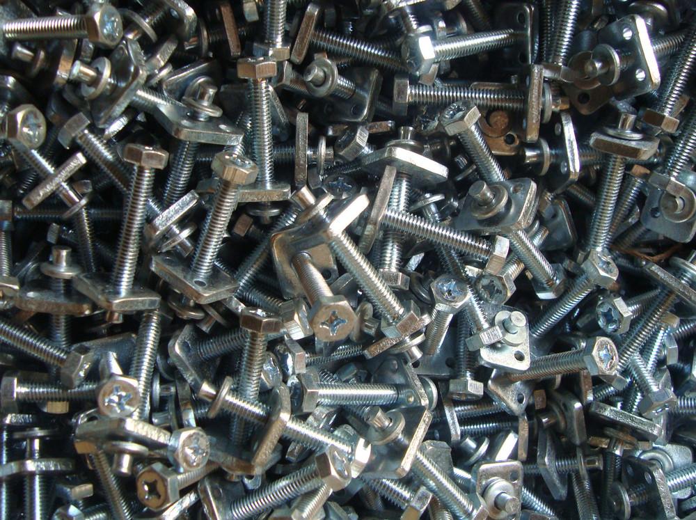Metallic Bolts Texture