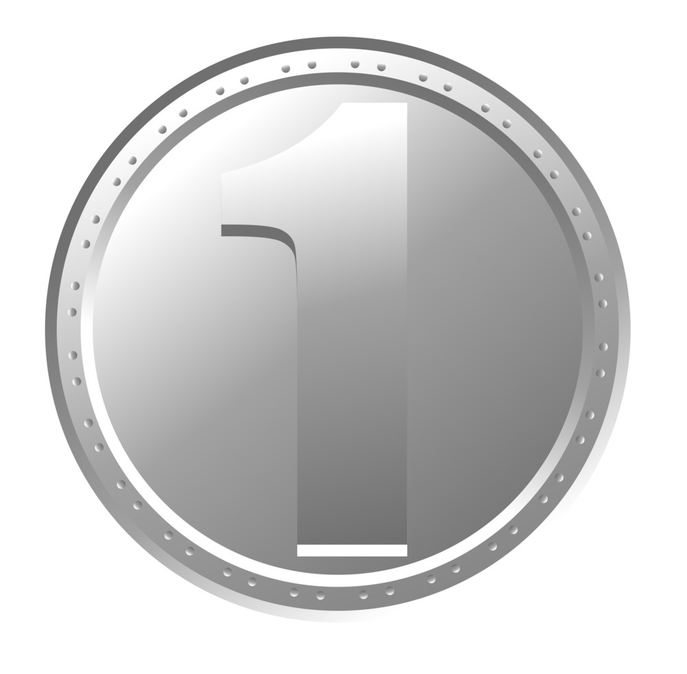 Metallic Currency Coin