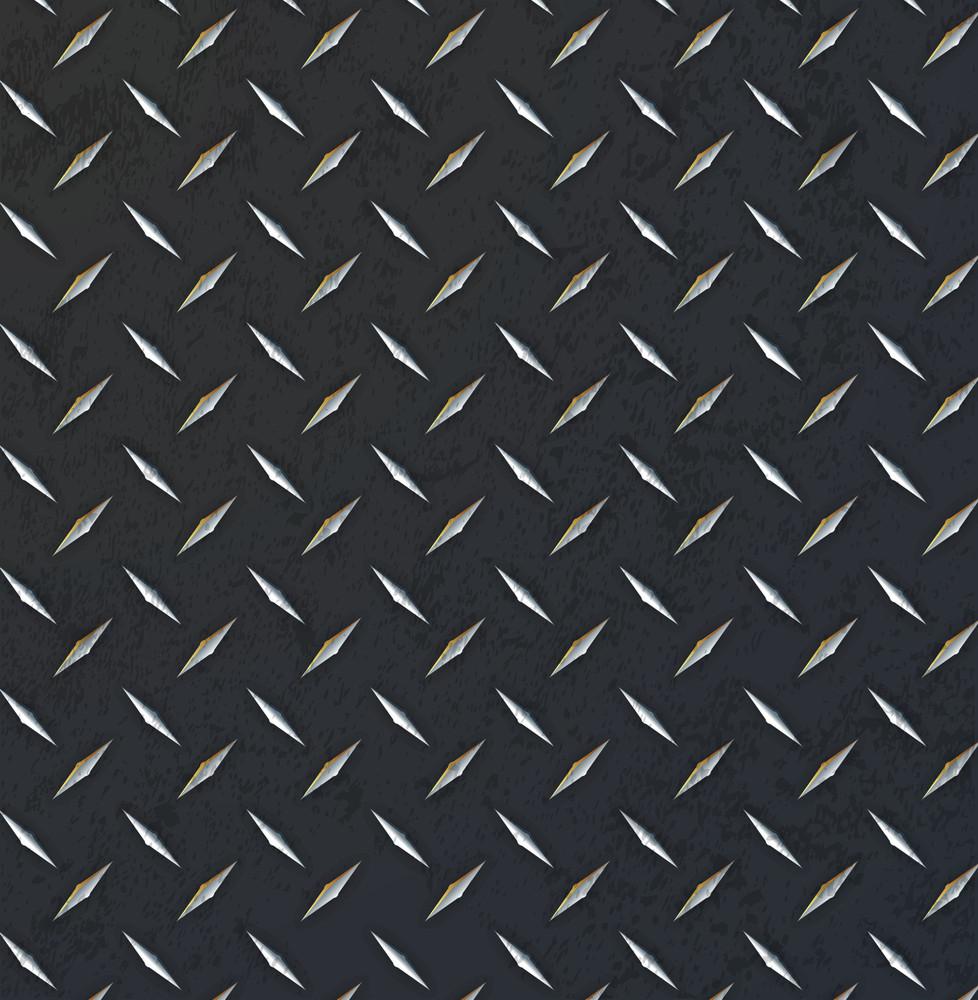 Metallic Diamond Sheet Background