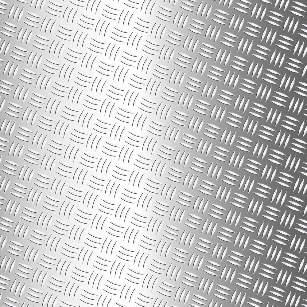 Metallic Diamond Sheet Pattern