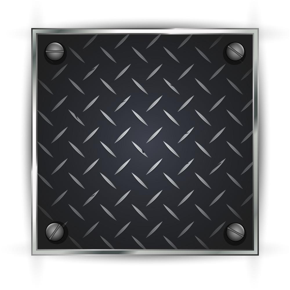 Metallic Diamond Sheet Vector