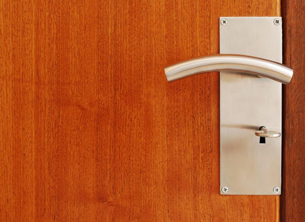 Metallic Door Handle With Key