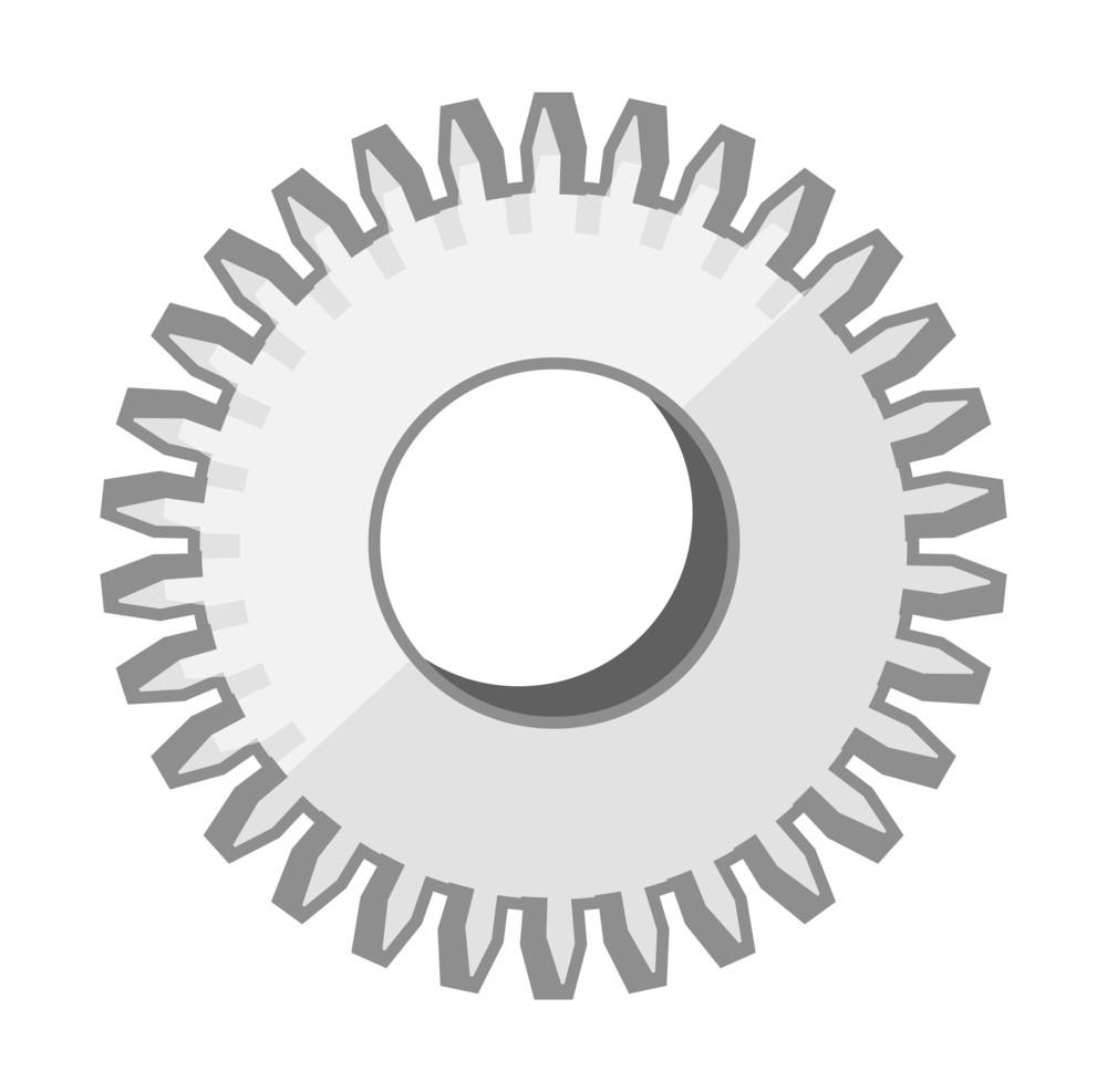 Metallic Gear Wheel