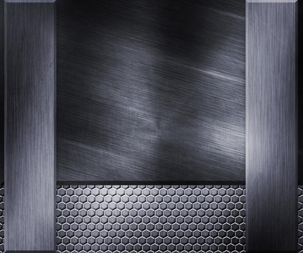Metallic Steel Texture