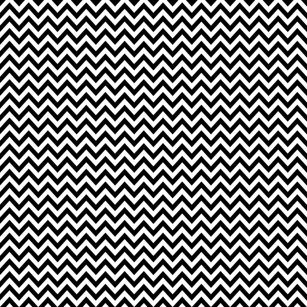 Black And White Chevron Pattern On Mickey Paper