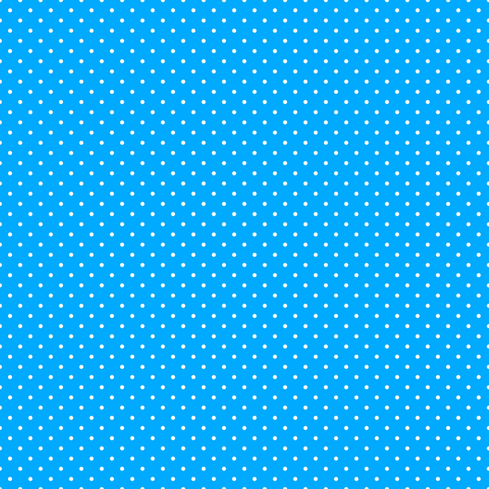 Pattern Of White Polka Dots On Blue Mickey Paper