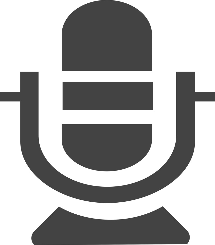 Microphone 1 Glyph Icon