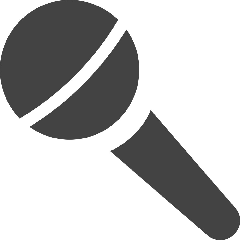 Microphone 2 Glyph Icon