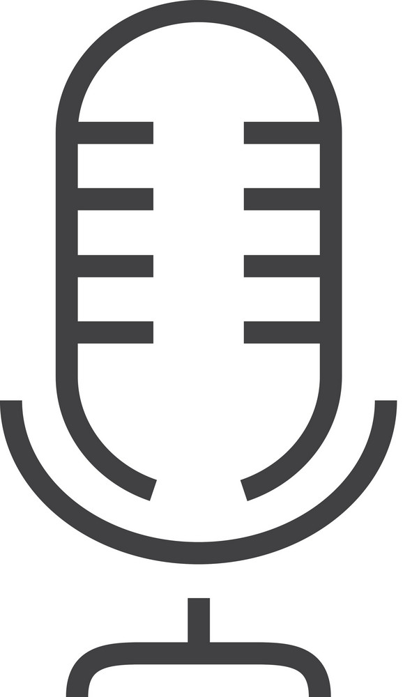 Microphone Minimal Icon
