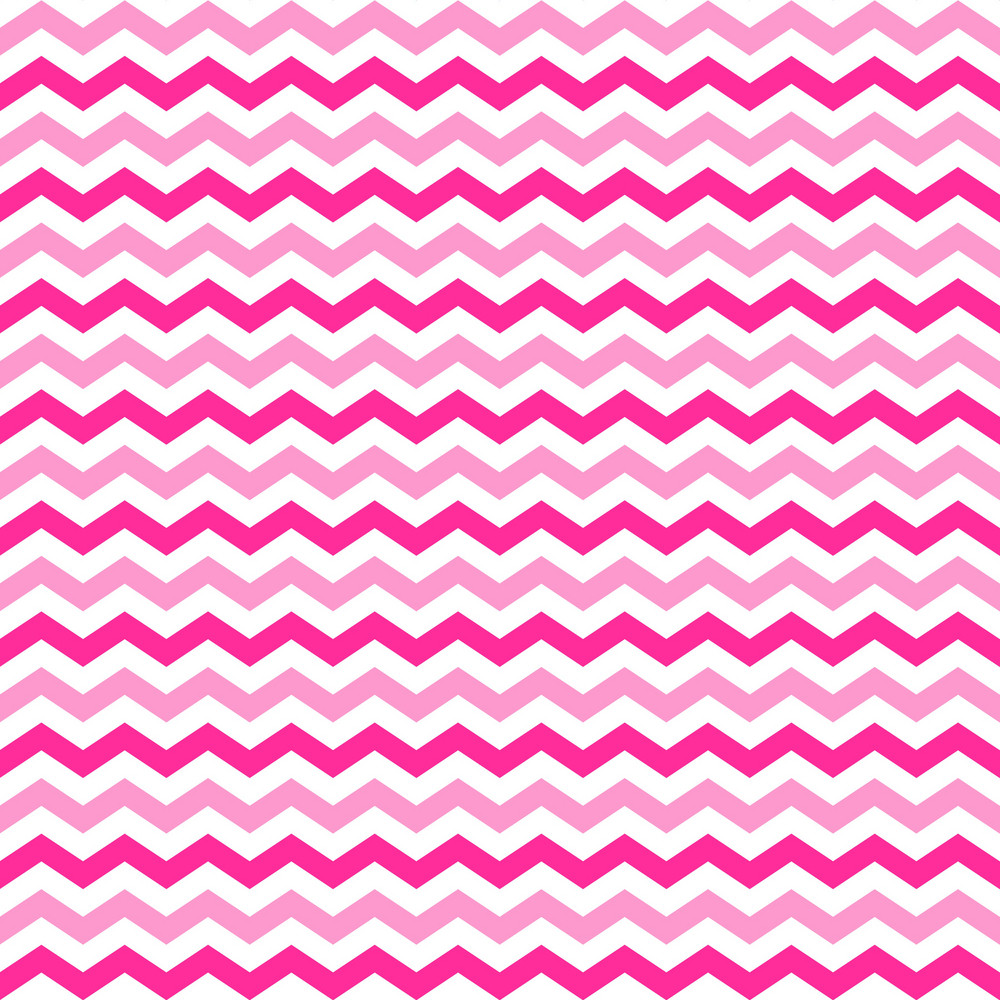 Pattern Of Pink And White Chevrons On Minnie Mouse Paper