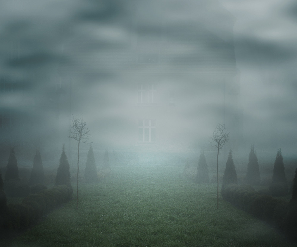 Mist Fantasy Backdrop