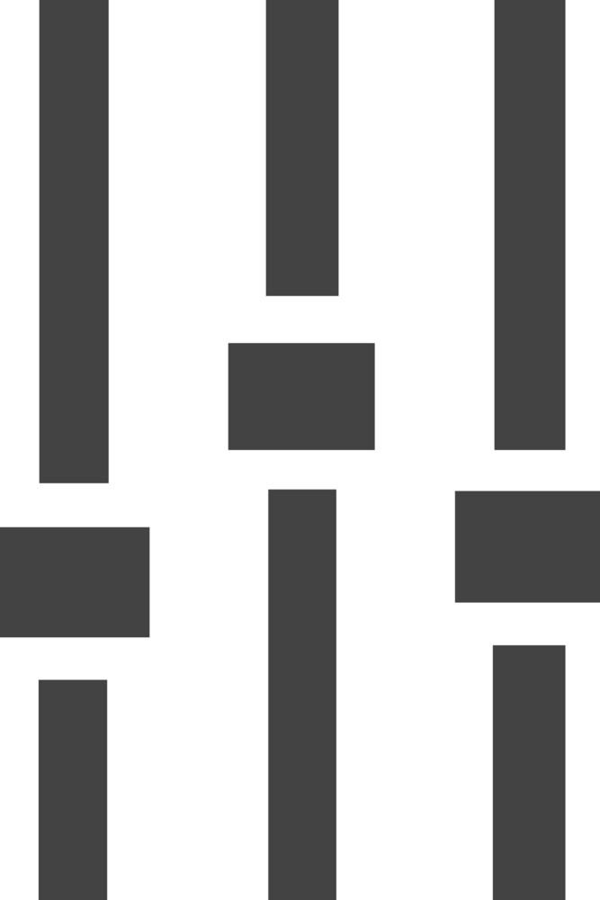 Mixer 1 Glyph Icon