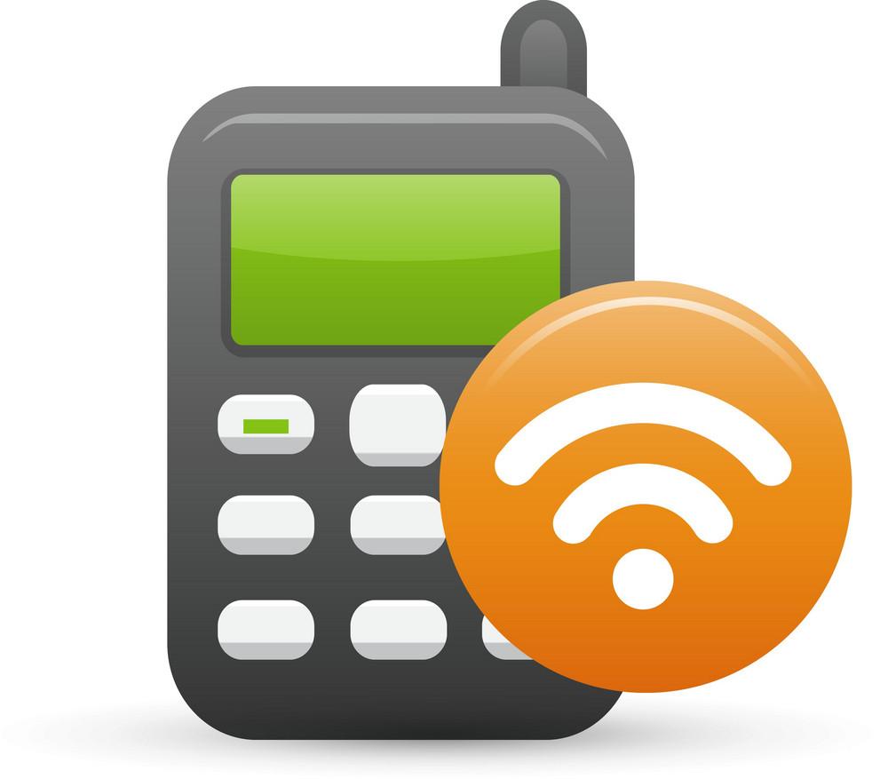Mobie Phone Rss Lite Ecommerce Icon