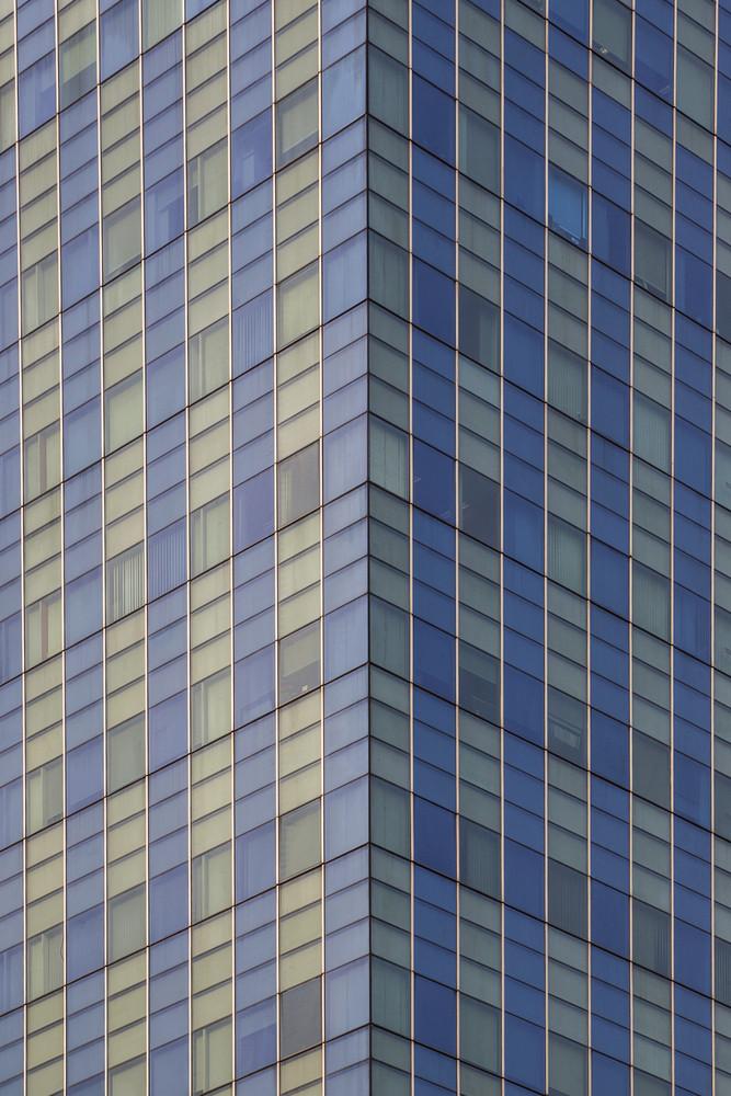 Modern building architecture windows