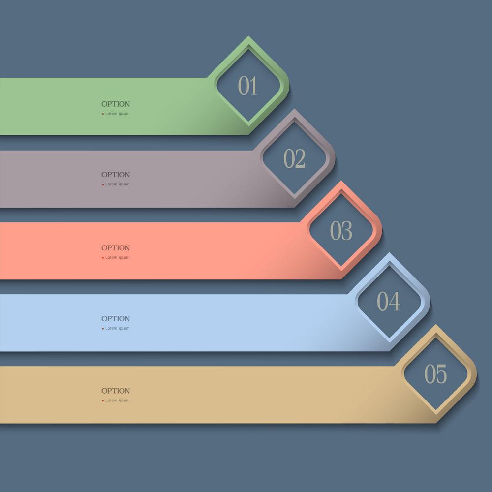 Modern Colored Design Template