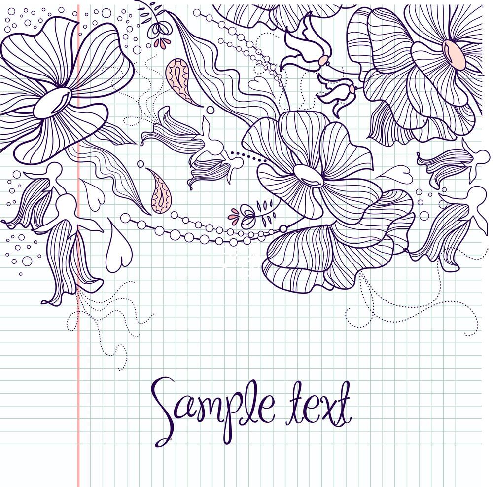 Modern Floral Background Royalty Free Stock Image Storyblocks