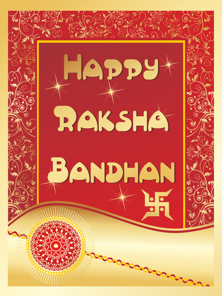 Modern Pattern Illustration For Rakshabandhan