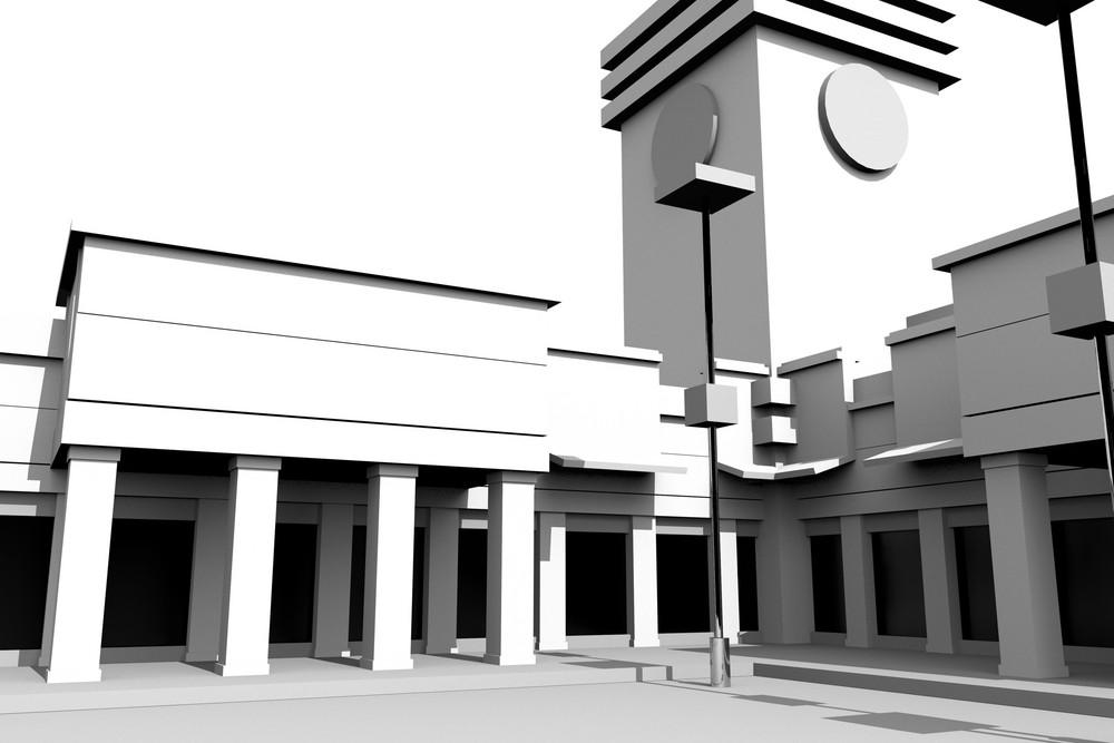 Modern Plaza