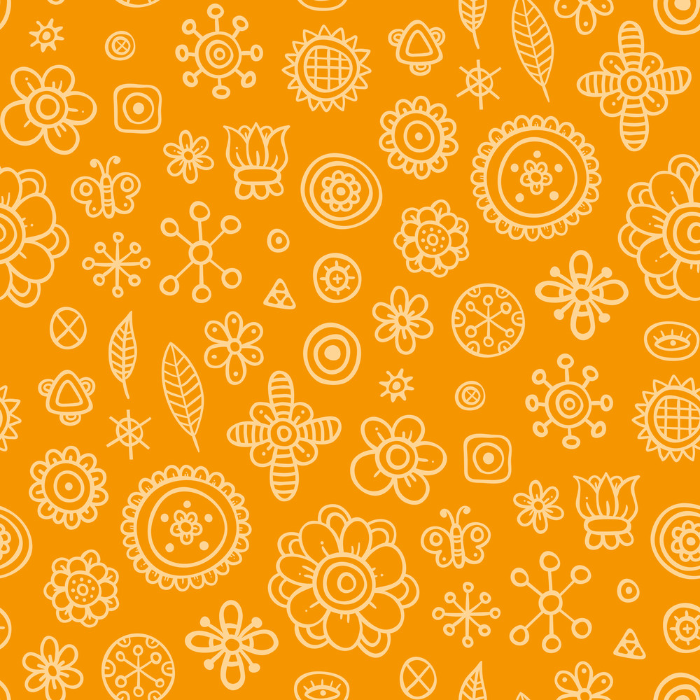Modern Seamless Pattern With Funky Triangles. Eps10.