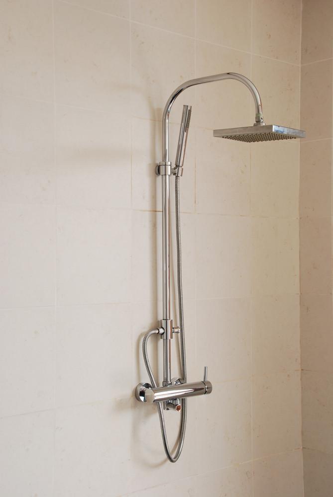 Modern Shower In A Luxury Hotel