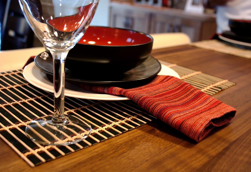 Modern Table Setting