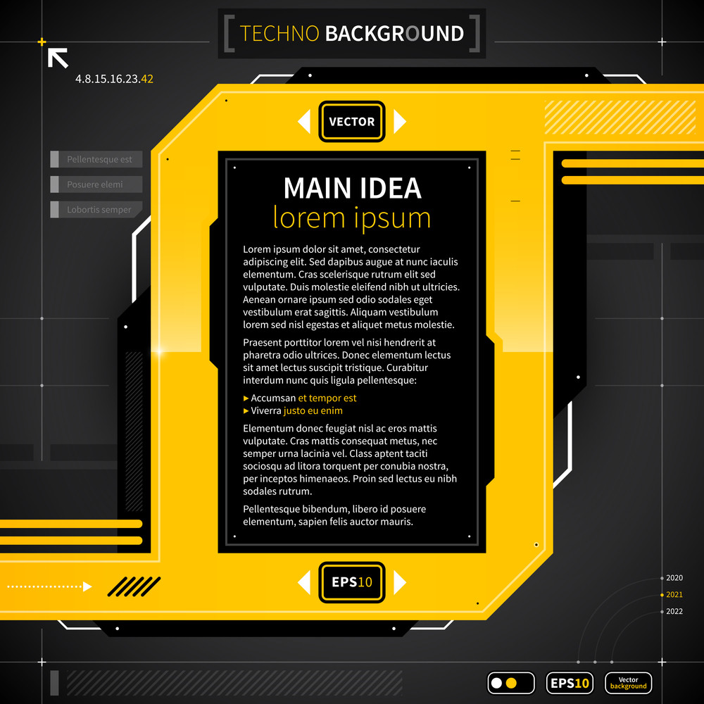 Modern Techo Background. Eps10.