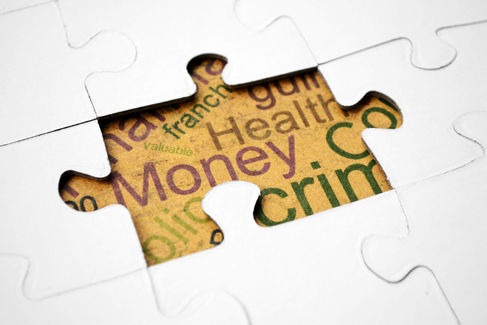 Money And Health Concept